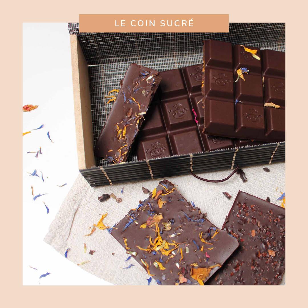 Chocolat cru fait maison