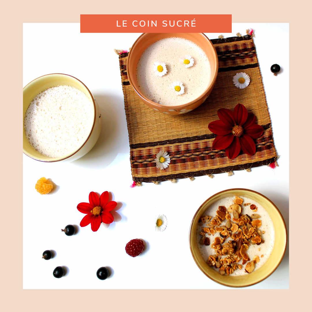 Petites crèmes dessert coco-citron