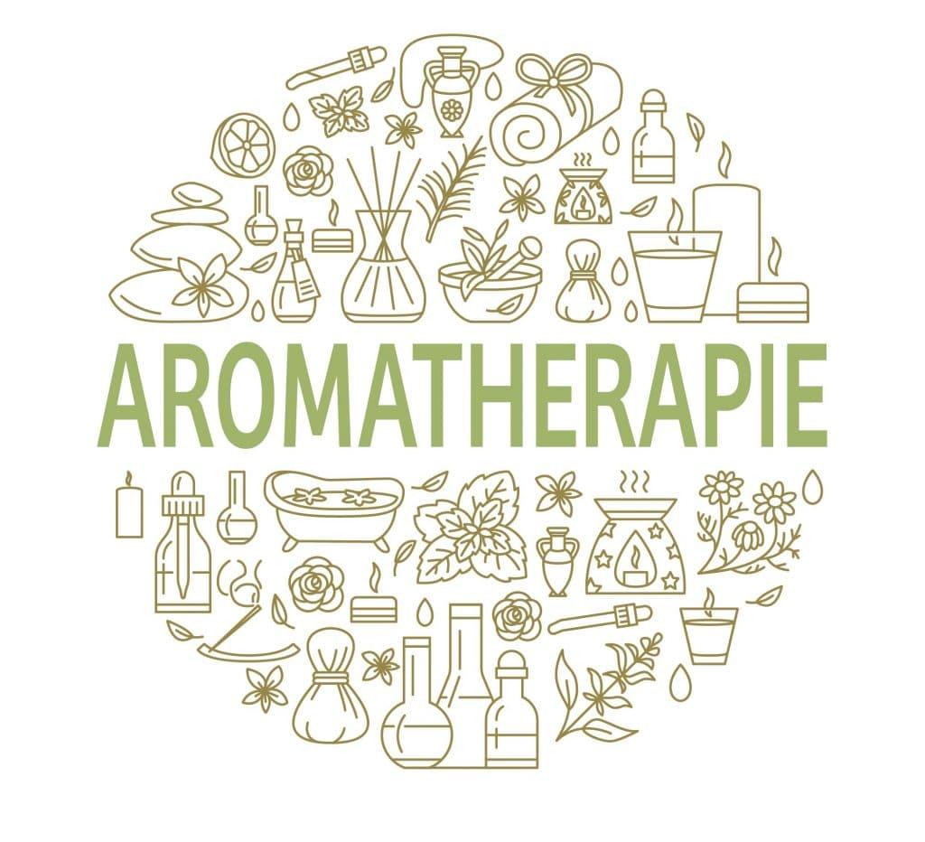 Infographie sur l'aromathérapie