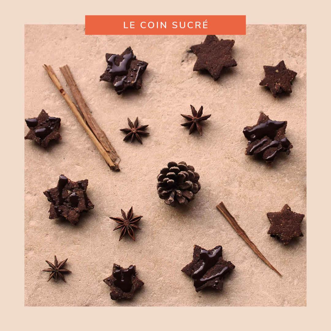 Étoiles aux épices et au chocolat