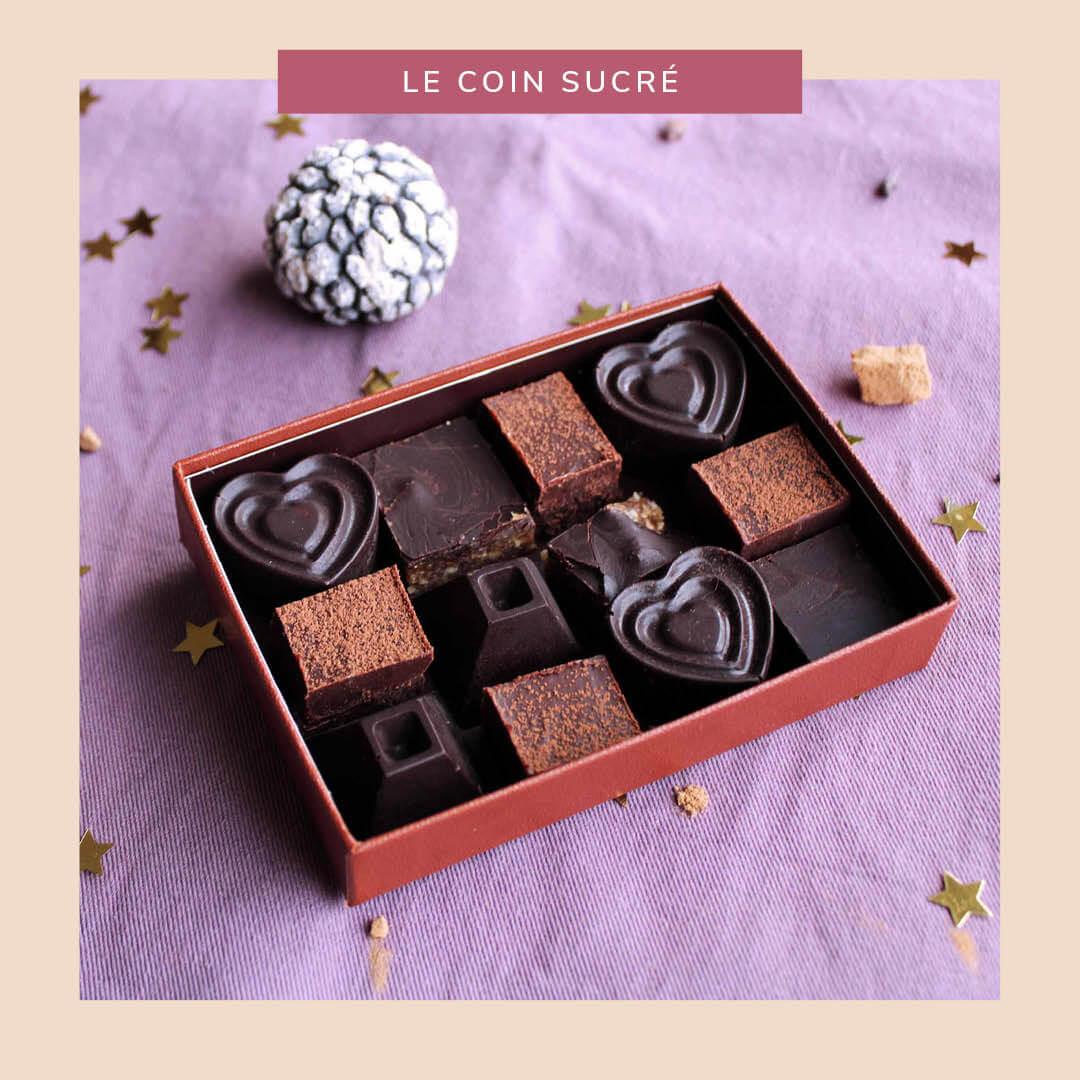Cruffes de Noël et autres petits chocolats crus