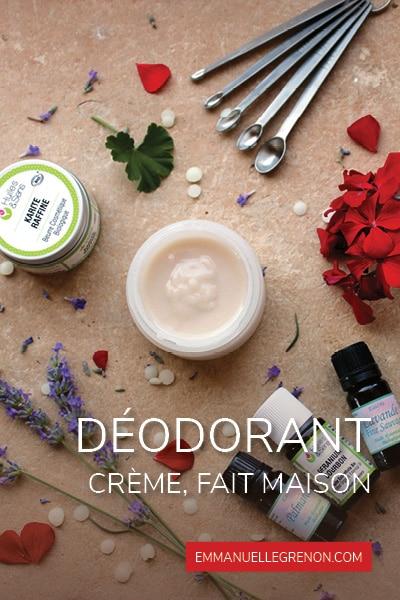 Déodorant-crème fait maison