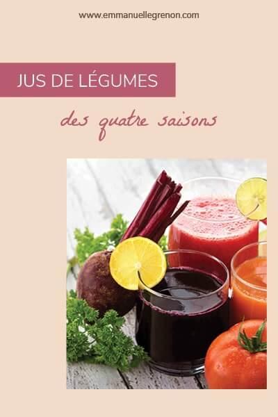 Jus de légumes des quatre saisons